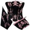 Beejo Pink Skulls Club Cover Set
