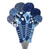 Just4Golf Blue Mini Stripe Hybrid Cover