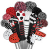 Just4Golf Red & Black Dot Driver Cover