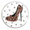 Abigale Lynn Cheetah High Heel Crystal Ball Marker