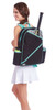 Ame & Lulu Brooks Black Shutters Tennis Backpack