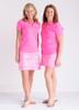 Birdies & Bows Pink Par Golf Skort