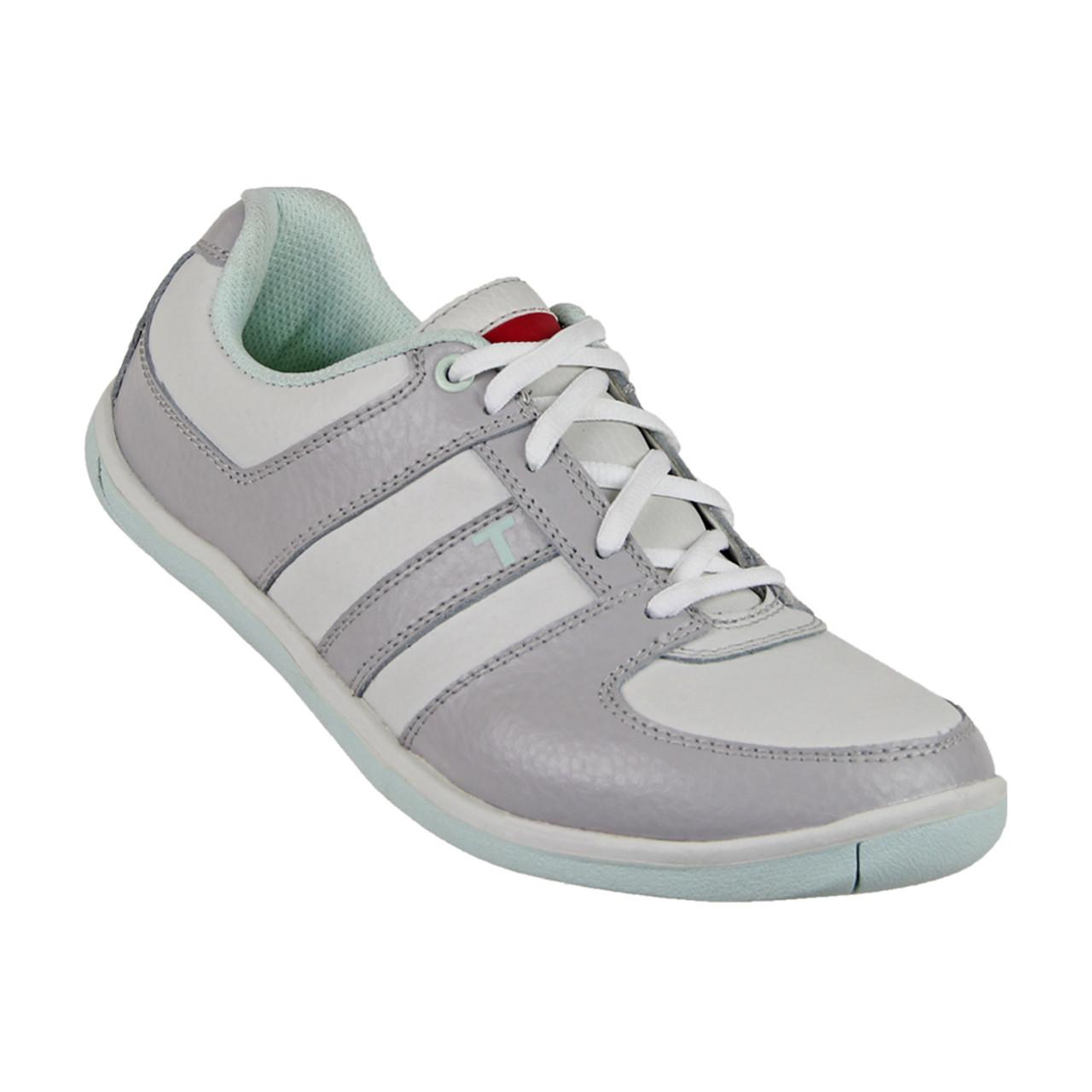 True Linkswear Scottsdale Women s Golf Shoes - White Grey Mint 5e7c98d4e