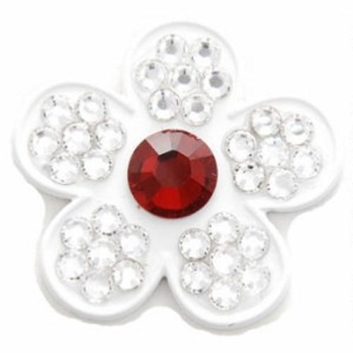 Bonjoc Stargazer Flower Swarovski Crystal Ball Marker