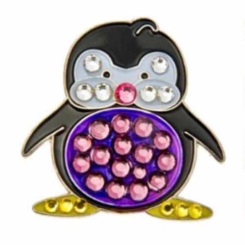 Bonjoc Penguin Cameron Swarovski Crystal Ball Marker