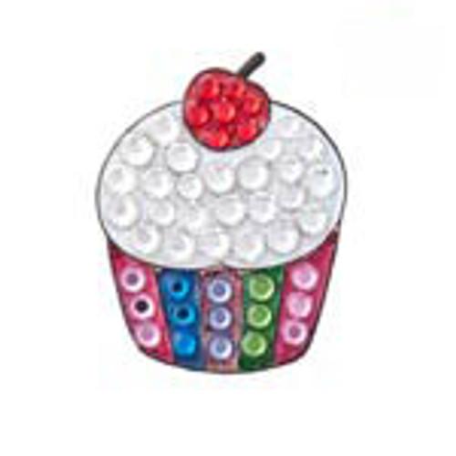 Bonjoc Cupcake Swarovski Crystal Ball Marker