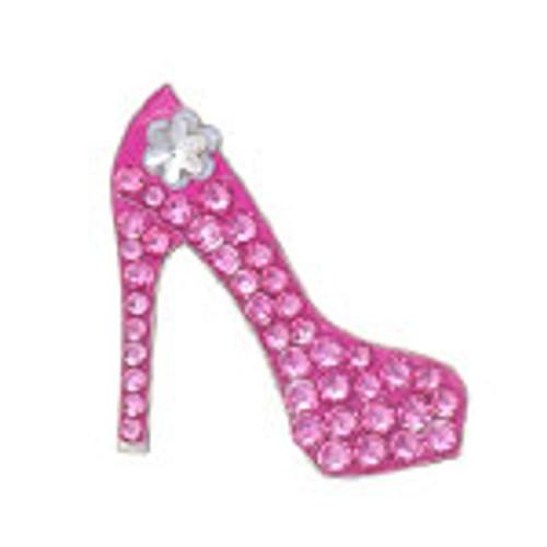 Bonjoc Pink Stiletto Swarovski Crystal Ball Marker