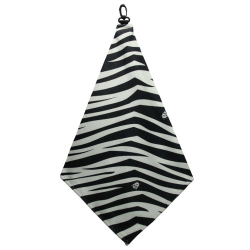 Beejo Zebra Golf Towel