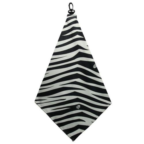 Beejo Zebra Golf Towel