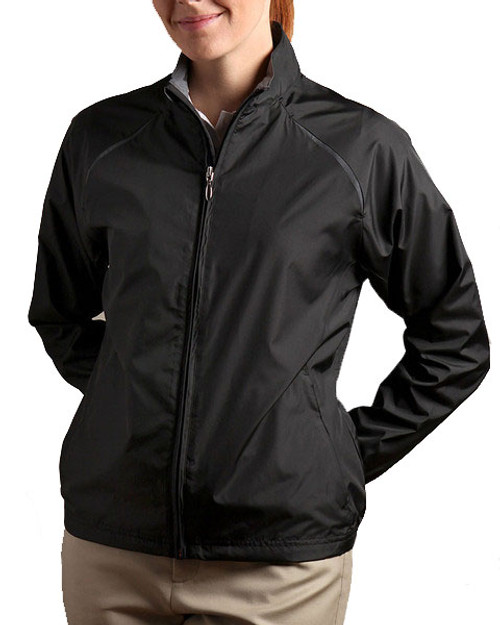 Glen Echo Black Women's Ultra Lightweight Water Repellent Jacket