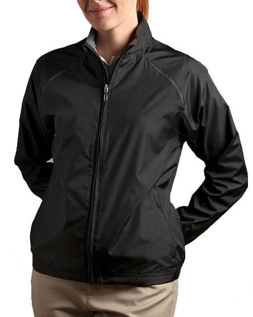Glen Echo Black Women's Ultra Lightweight Water Repellent Jacket