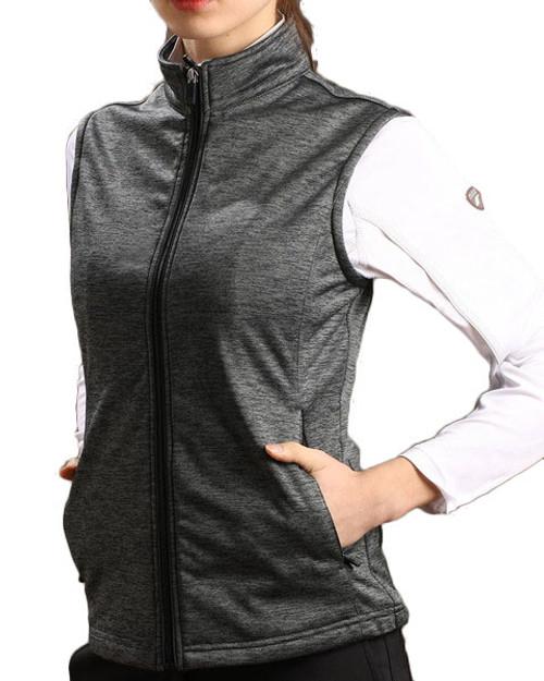 Glen Echo Green Lightweight Ladies Stretch Tech Meringue Vest