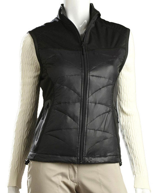 Glen Echo Black Ladies Duck Down Vest