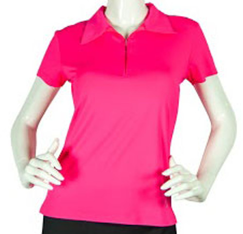 2GG Pink Short Sleeve Golf Polo - Size: L & XXL