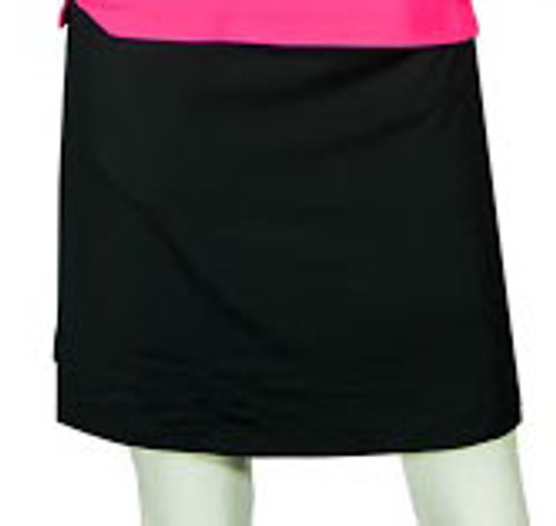 2GG Pleated Black Golf Skort