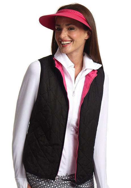 Golftini Black Ladies Wind Vest