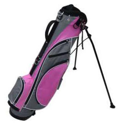 RJ Sports Typhoon Pink Mini Stand Golf Bag