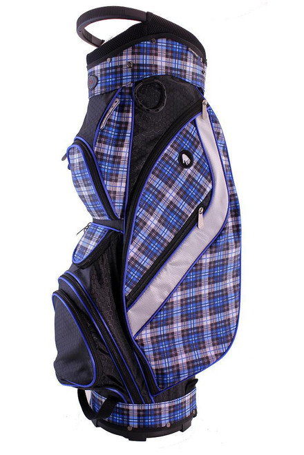 Hunter Golf Galaxy Ocean Plaid Ladies Golf Bag
