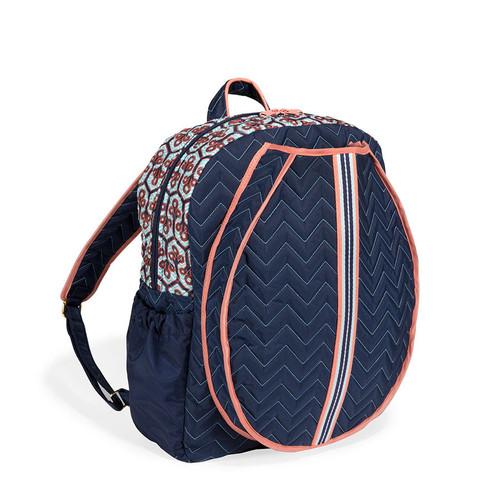 cinda b Neptune Tennis Backpack