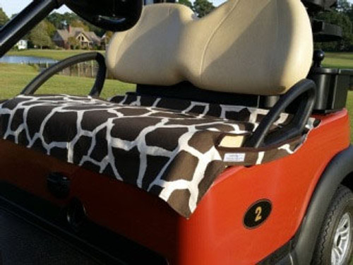 Giraffe Cotton Cart Seat Cover