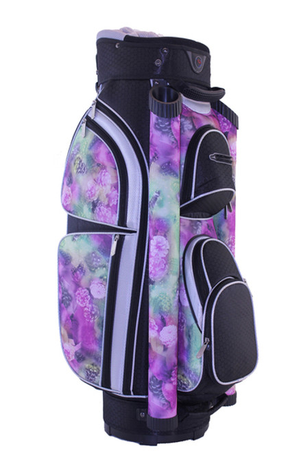Hunter Golf Eclipse Midnight Floral Ladies Cart Bag