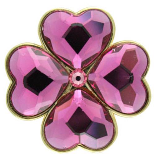 Bonjoc Lucky Charms Fuschia Crystal Ball Marker
