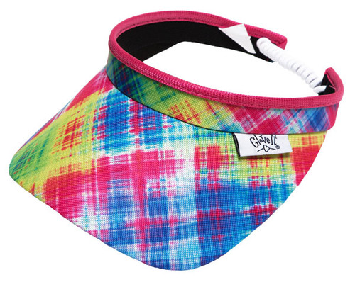 Glove It Electric Plaid Visor - Only 1 Left!