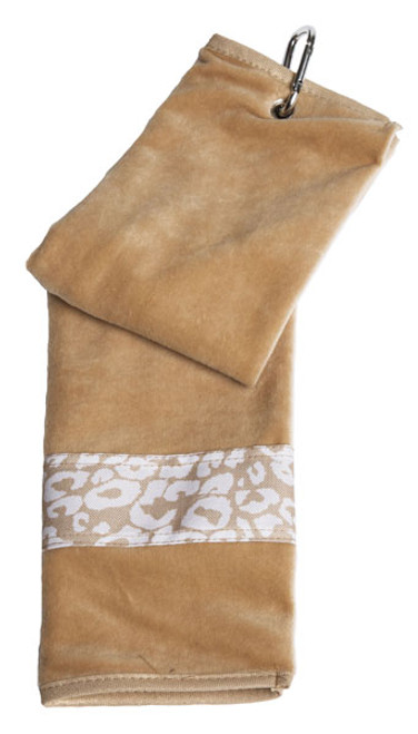 Glove It Uptown Cheetah Ladies Golf Towel