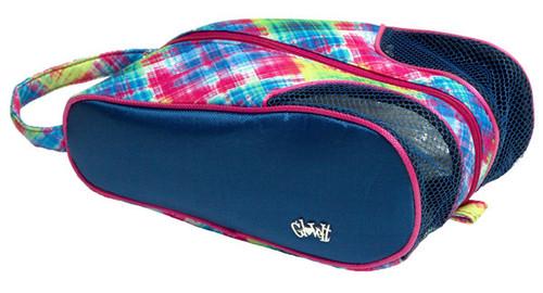 Glove It Electric Plaid Ladies Shoe Bag
