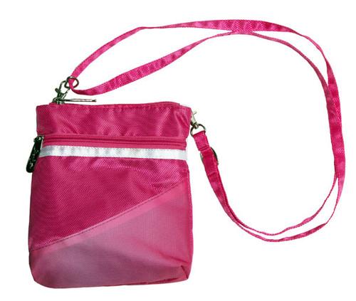 Greg Norman Pretty In Pink 3 Zip Golf Accessory Bag