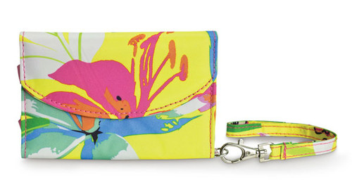 All For Color Island Oasis Smart Phone ID Wristlet