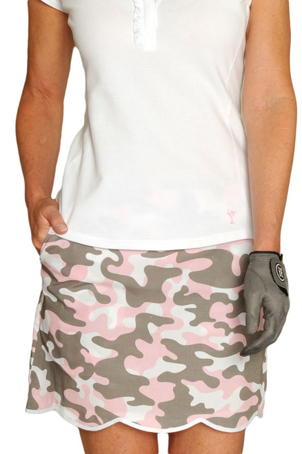 Golftini Incognito Stretch Cotton Golf Skort
