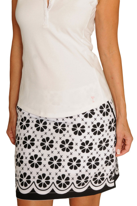 Golftini The Masters Stretch Cotton Golf Skort