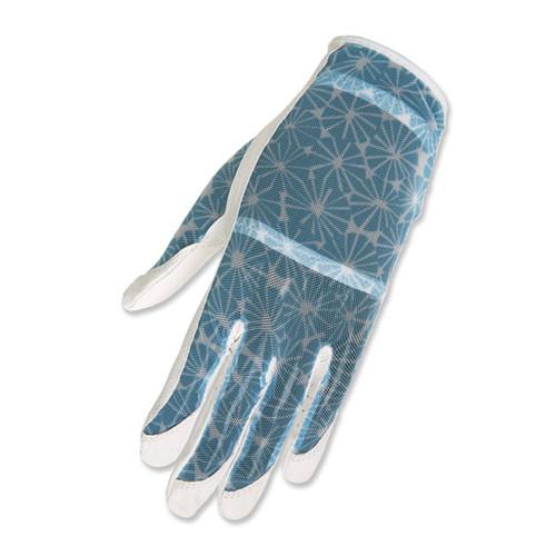 HJ Glove Solaire White Burst Ladies Golf Glove