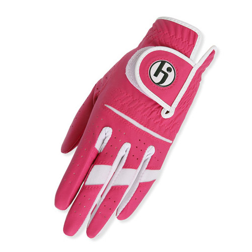 HJ Glove Gripper Hot Pink Ladies Golf Glove