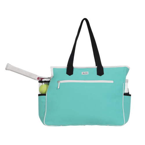 Ame & Lulu Kensington Ladies Tennis Court Bag - Aqua