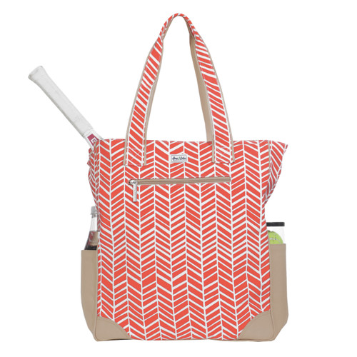 Ame & Lulu Emmerson Ladies Tennis Tote Bag - Tango Orange