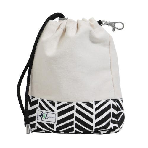 A&L Black Shutters Golf Ditty Bag
