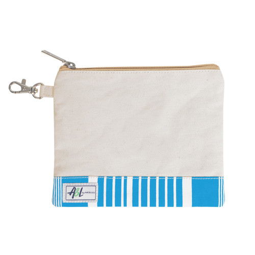 A&L Ticking Stripe Golf Tee Bag
