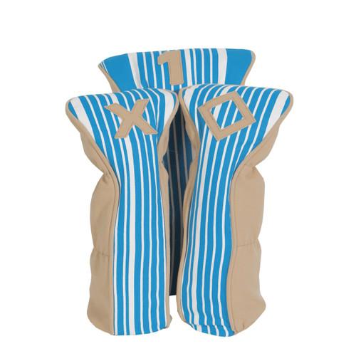 A&L Ticking Stripe Golf Head Cover Set