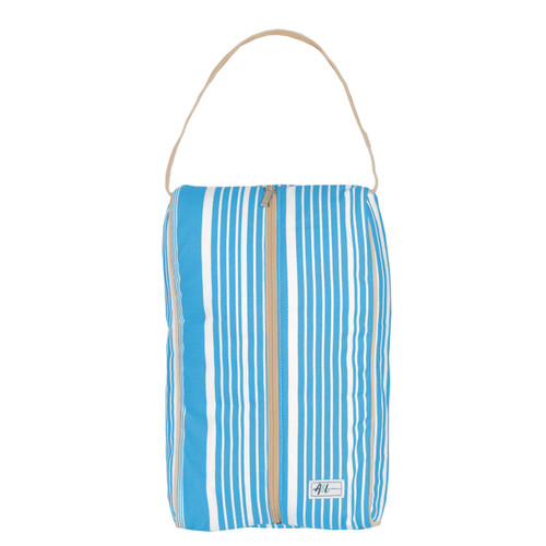 A&L Ticking Stripe Shoe Bag
