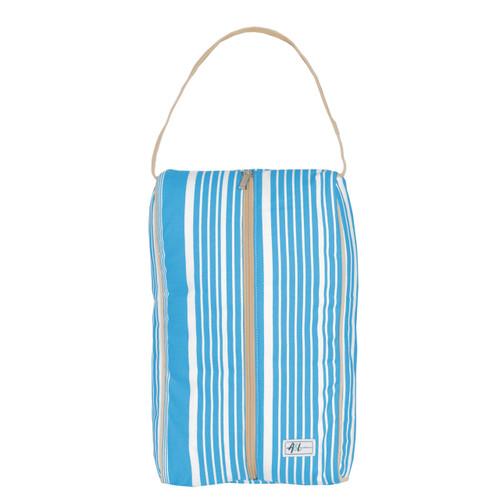 A&L Ticking Stripe Shoe Bag