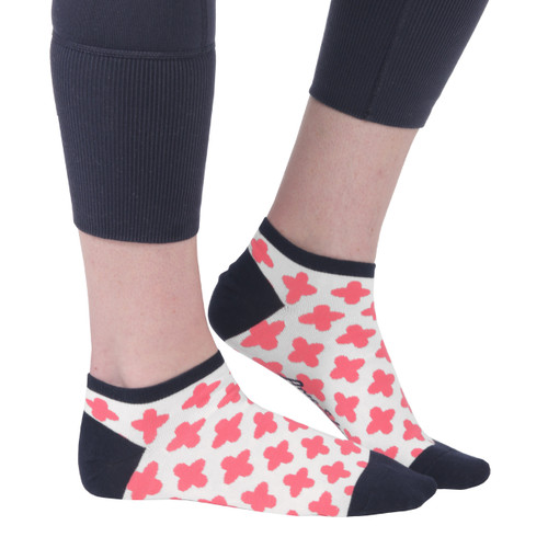 Ame & Lulu Clover Athletic Socks