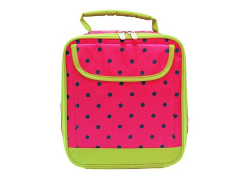 All For Color Watermelon Dot Lunch Tote