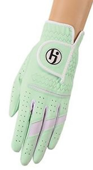 HJ Glove Gripper Mint Ladies Golf Glove - Size: Medium