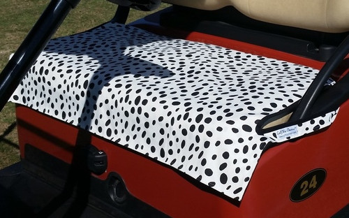 Dalmation Fade Resistant Cart Seat Cover