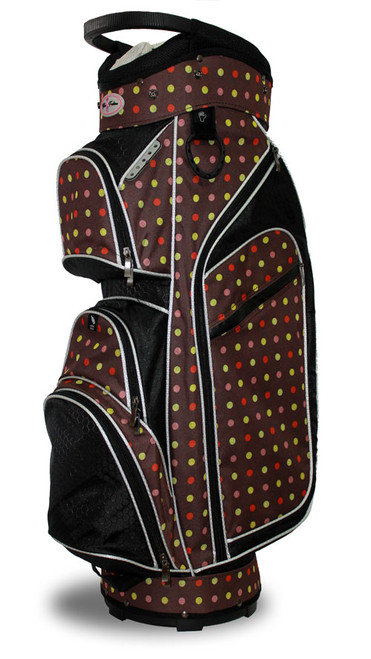 Taboo Fashions Monaco Cocoa Eye Candy Ladies Golf Bag