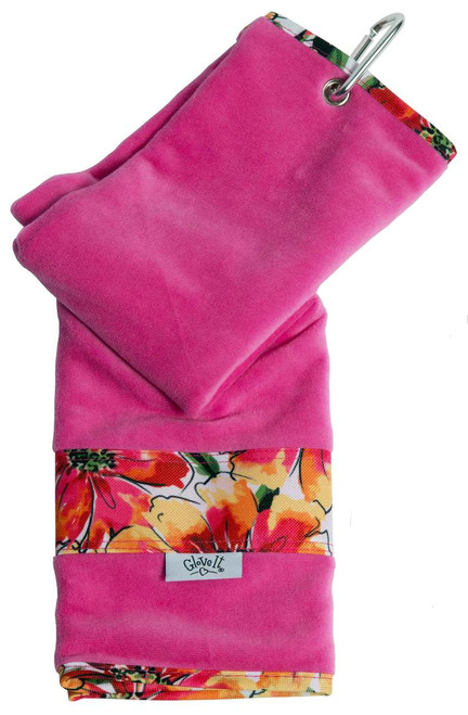 Glove It Sangria Ladies Golf Towel
