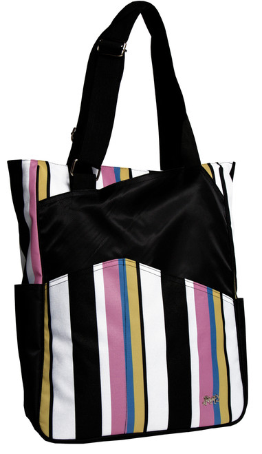 Glove It Cabana Stripe Tennis Tote Bag