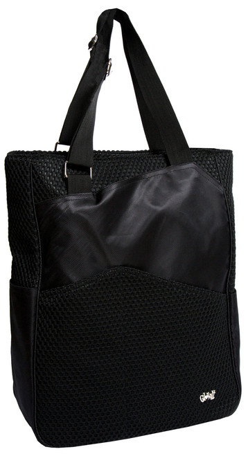 Glove It Black Mesh Tennis Tote Bag